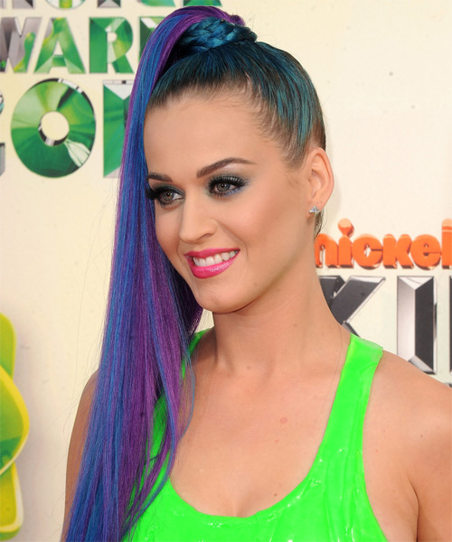 20 Beautiful Pop Star Katy Perry Hairstyles Ideas 2014