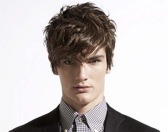 Hairstyles for tall guys - Messy-Hairstyles