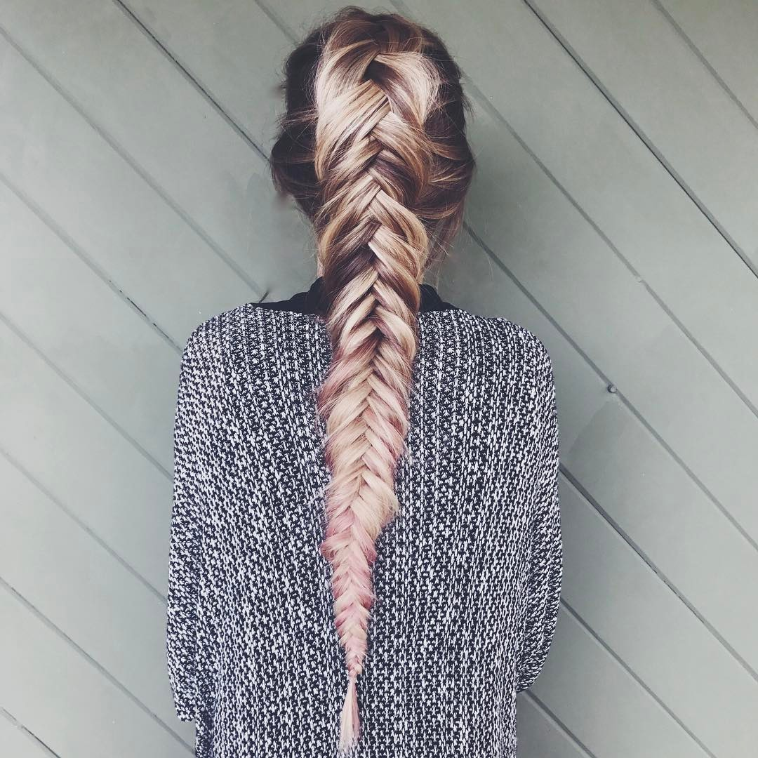 17 Fabulous Fishtail Braids Hairstyles Hairstyles Out