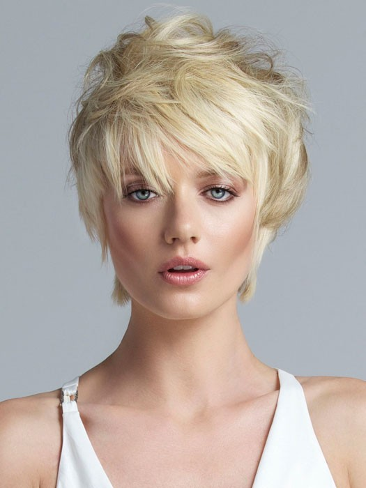 Choppy Crop short layered hairstyles