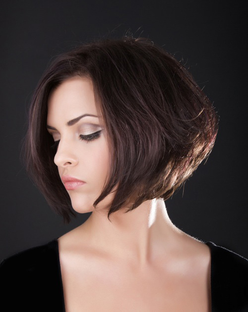 short layered bob haircuts for thick hair