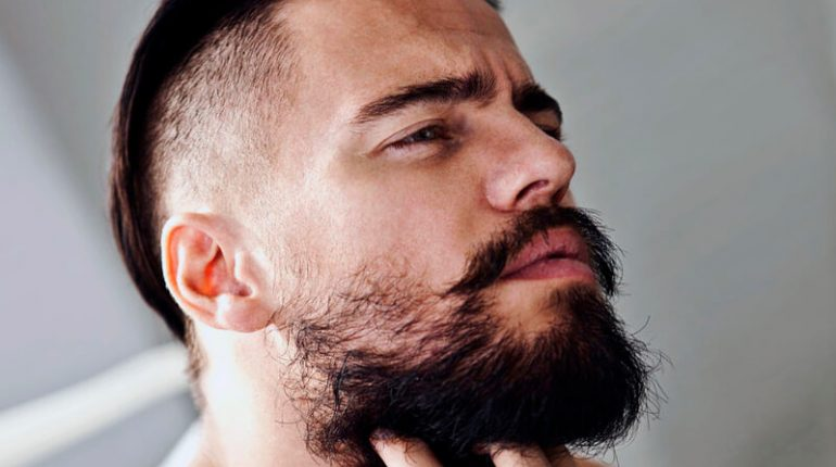 Bald Fade Haircuts With beard